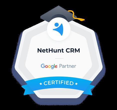 Reconocido como Socio certificado de Google.