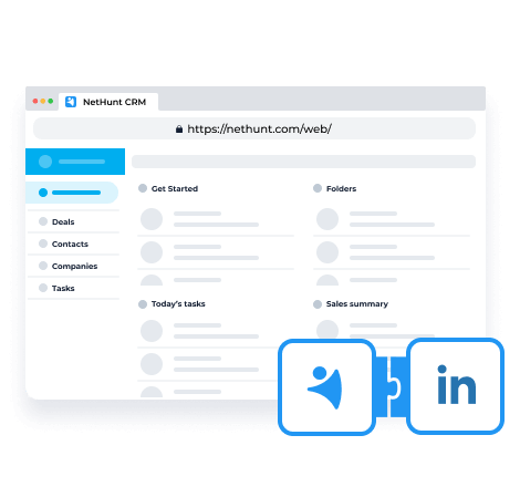 Launched LinkedIn integration, web app, and new functionality.